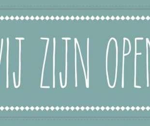 Open op 1 november